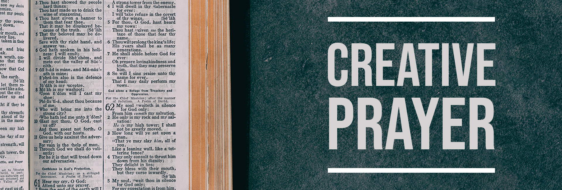 Creative Prayers Web